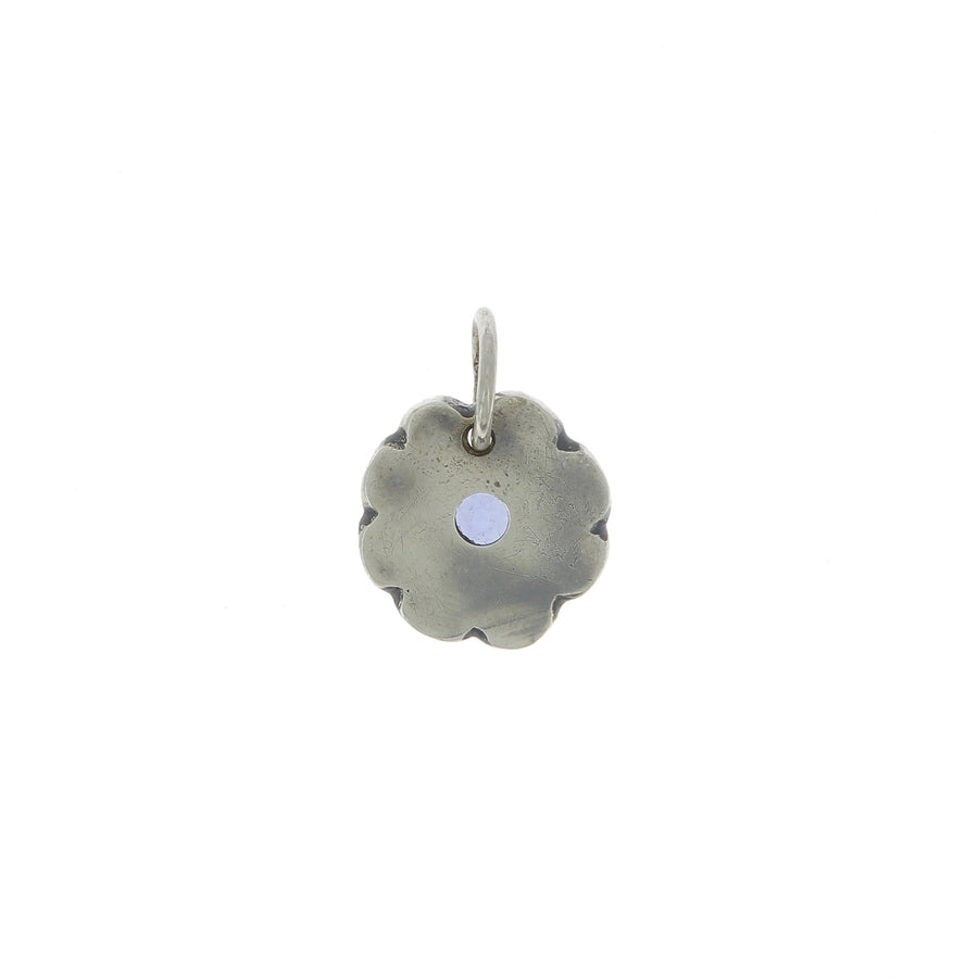 Round western bloom pendant
