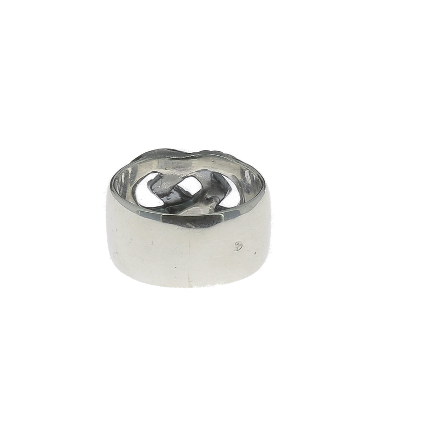 Interlaced Silver Ring