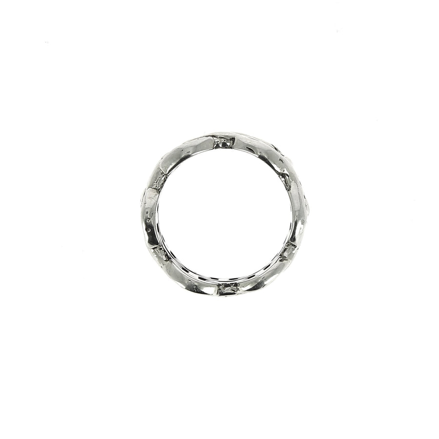 Sacred Melted Double Classic Tri Link Ring