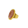 Topaze imperiale ring