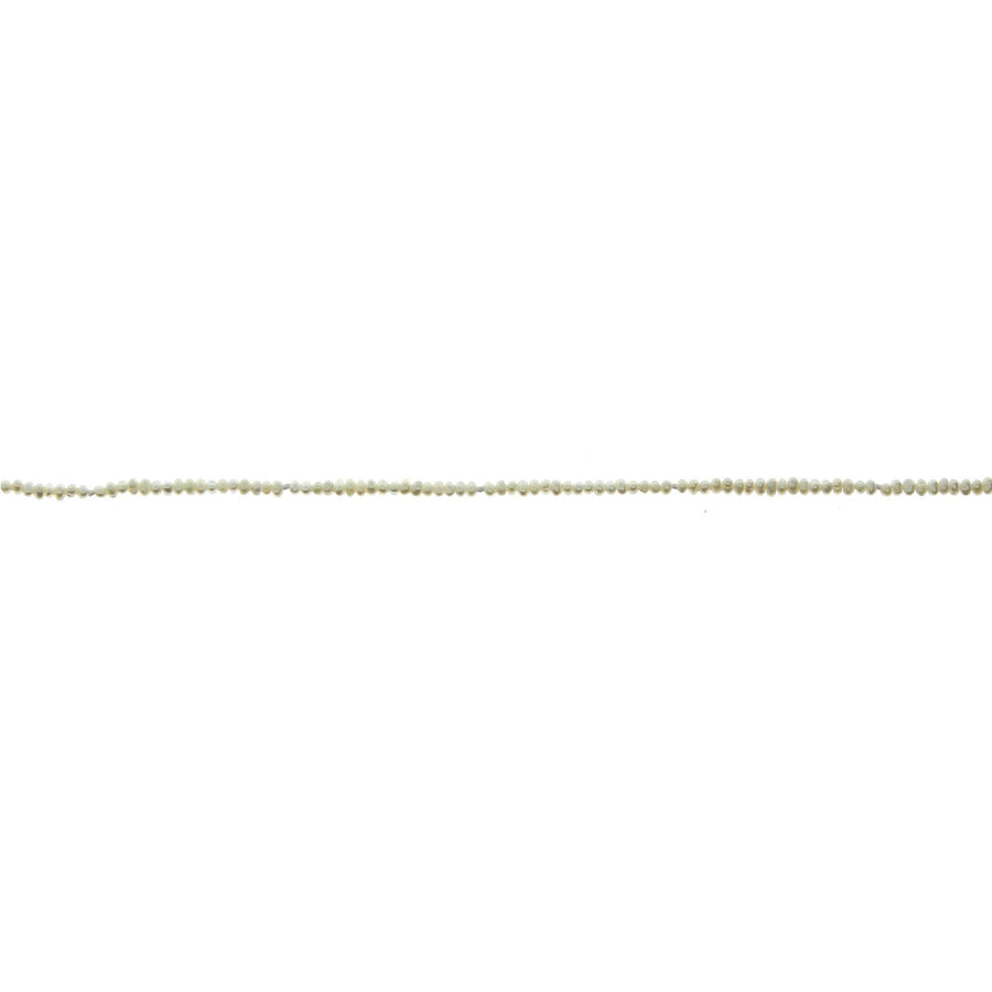 Seed Pearl Necklace with Yellow Gold Loops