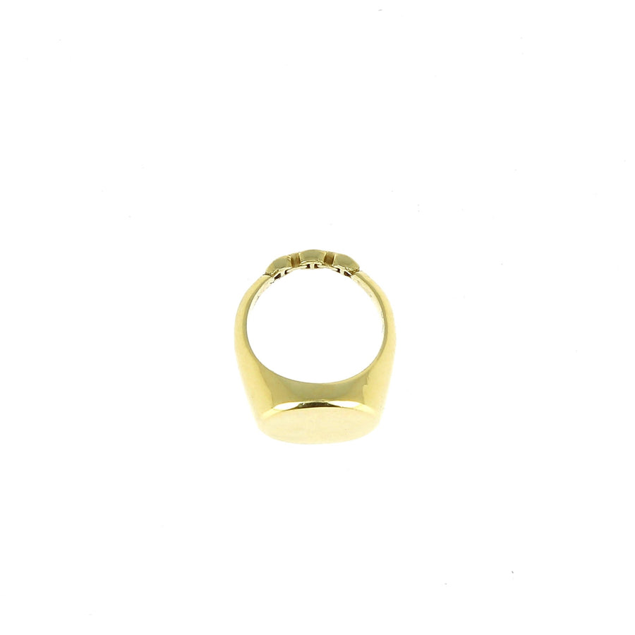Signet Charm Yellow Gold