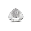 Signet Classic Ring White Diamonds