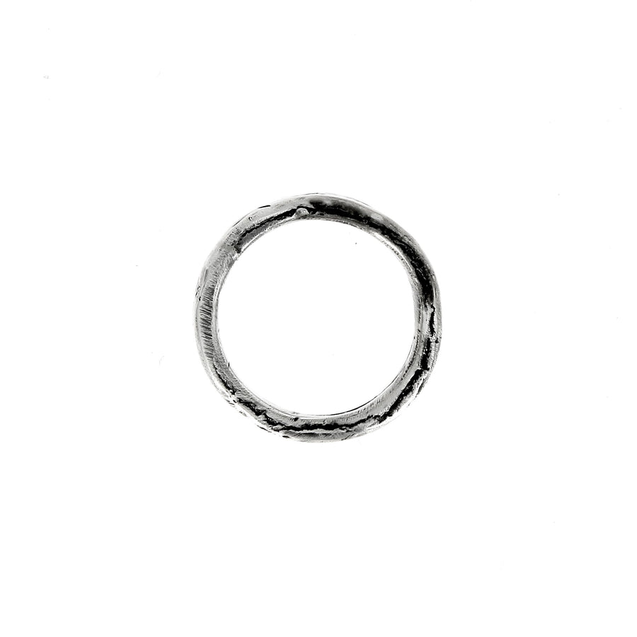 Simple Hammered Ring