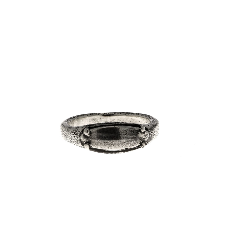 Small plate ring