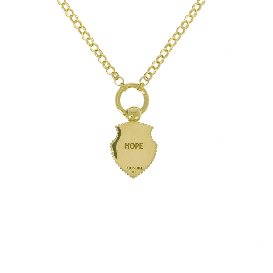 Spero hope necklace