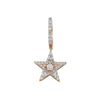 Star Light Sirius Hoop Earring