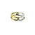Tension Ring Silver and Gold