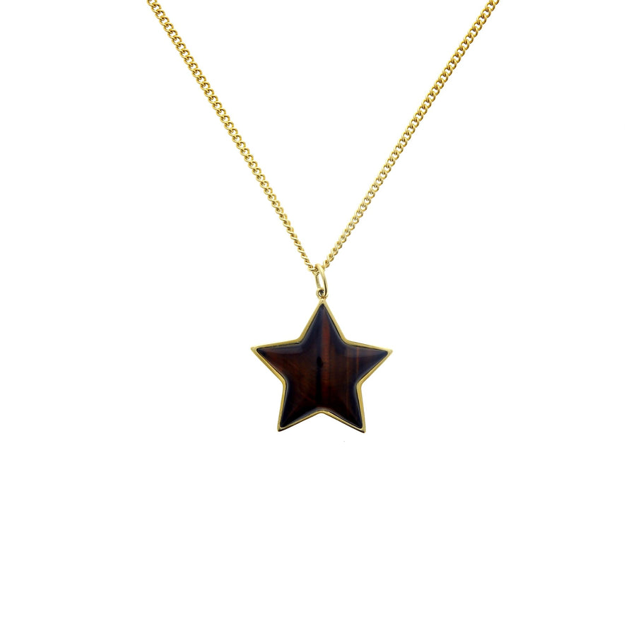 Tigers eye star charm