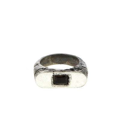 Smoked Quartz Ring