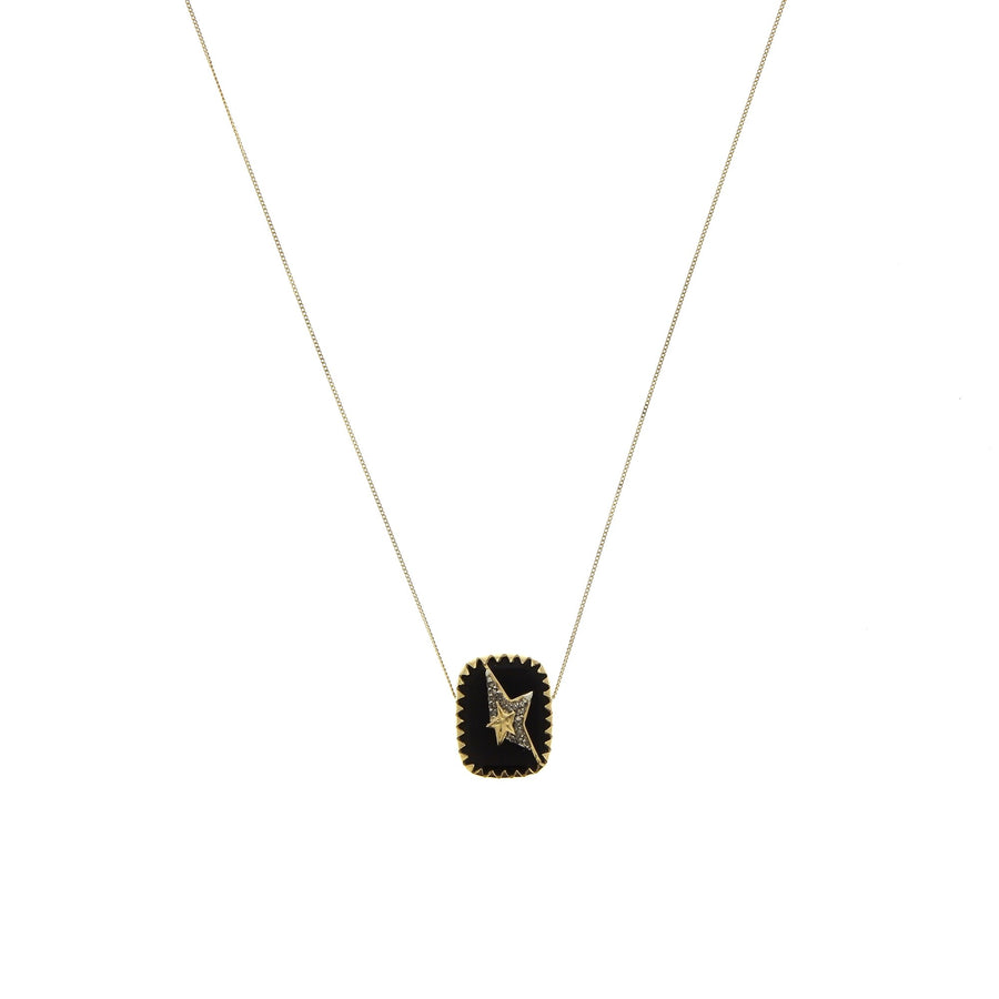 Varda n°1 Necklace Black Diamond