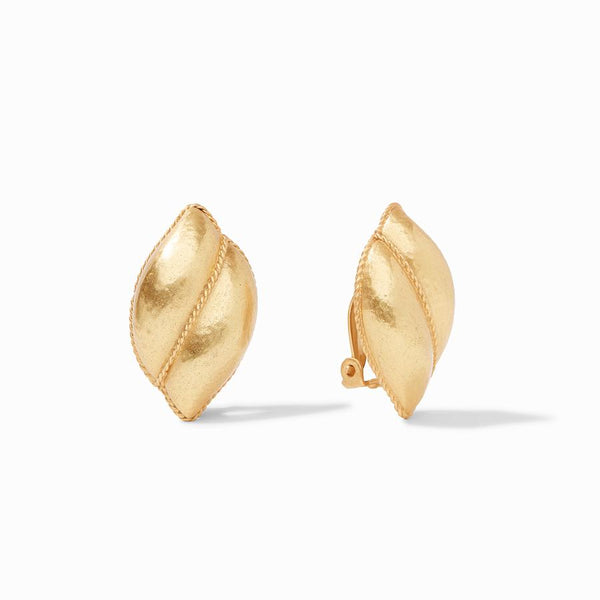 Julie Vos Shell Clip Earring