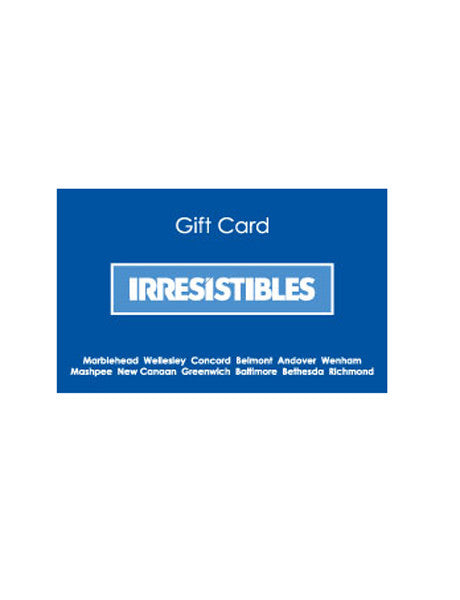 Irresistibles Gift Card