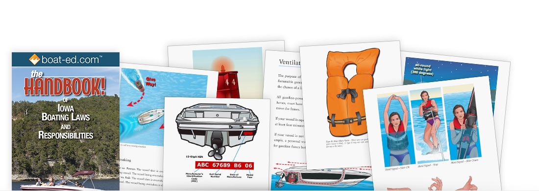 The Handbook of Iowa: Boating Laws and Responsibilities