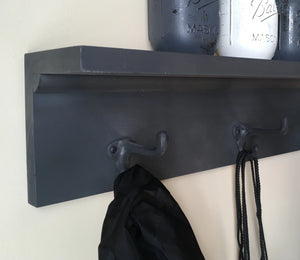 "16"" Coat Rack with Shelf - Bravenity"