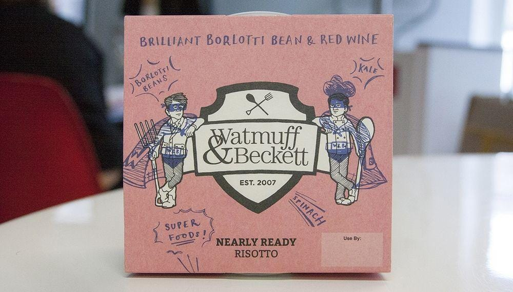 Watmuff Beckett Chorizo Butternut Squash Risotto 370g - Applegarth Online Farmshop