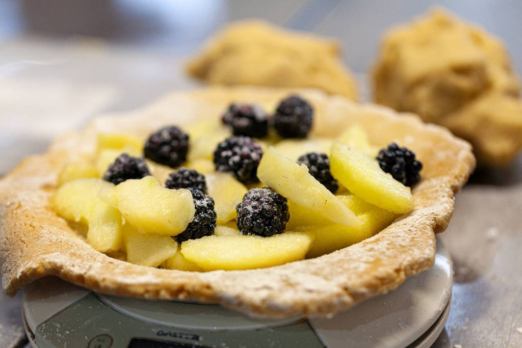 Steph's Apple & Blackberry Pie - Applegarth Online Farmshop