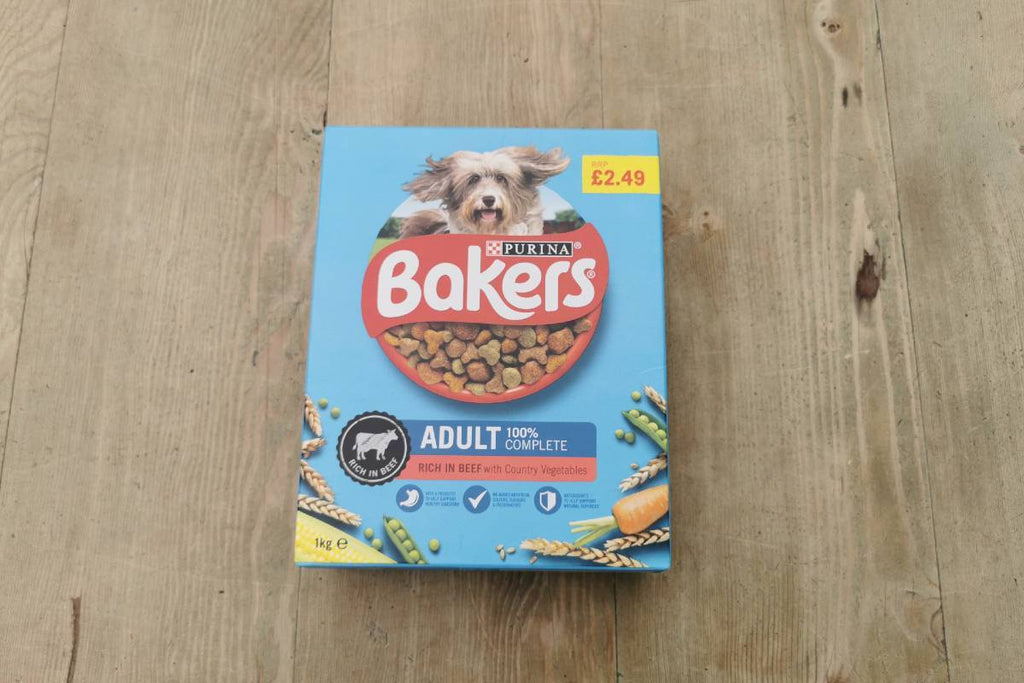 Bakers Adult Beef & Veg Dog Food 1kg - Applegarth Online Farmshop