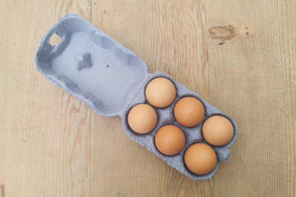 6 Medium Eggs - Applegarth Online Farmshop