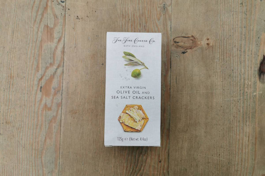 Extra Virgin Olive Oil & Sea Salt Crackers - Applegarth Online Farmshop