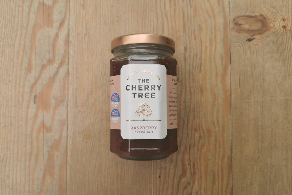 The Cherry Tree Raspberry Jam - Applegarth Online Farmshop