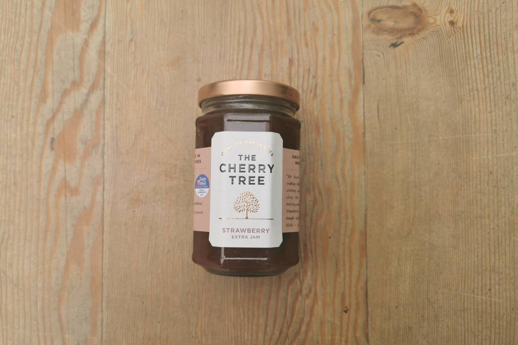 The Cherry Tree Strawberry Jam - Applegarth Online Farmshop