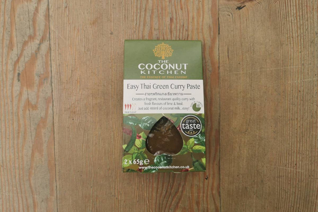 Coconut Kitchen Easy Green Curry Paste - Applegarth Online Farmshop