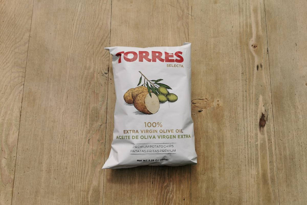 Torres Extra Virgin Olive Oil Crisps 150g - Applegarth Online Farmshop