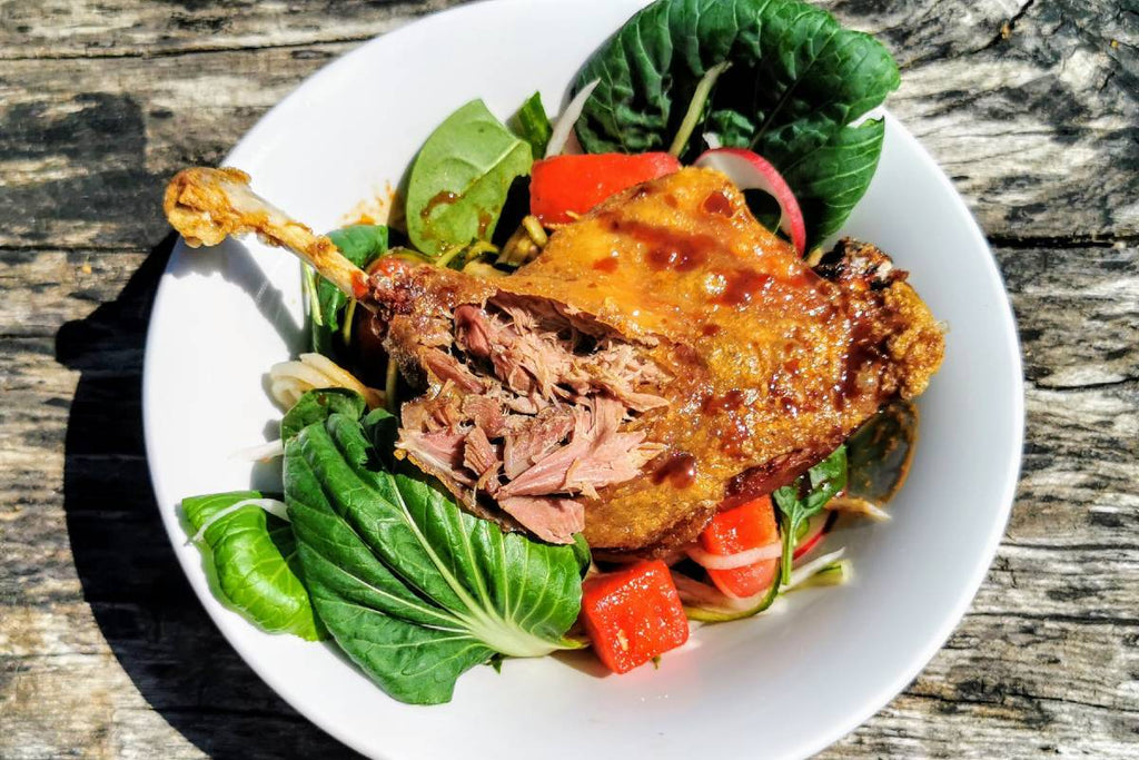'Finish-at-Home ' Crispy Oriental Duck Salad - Applegarth Online Farmshop