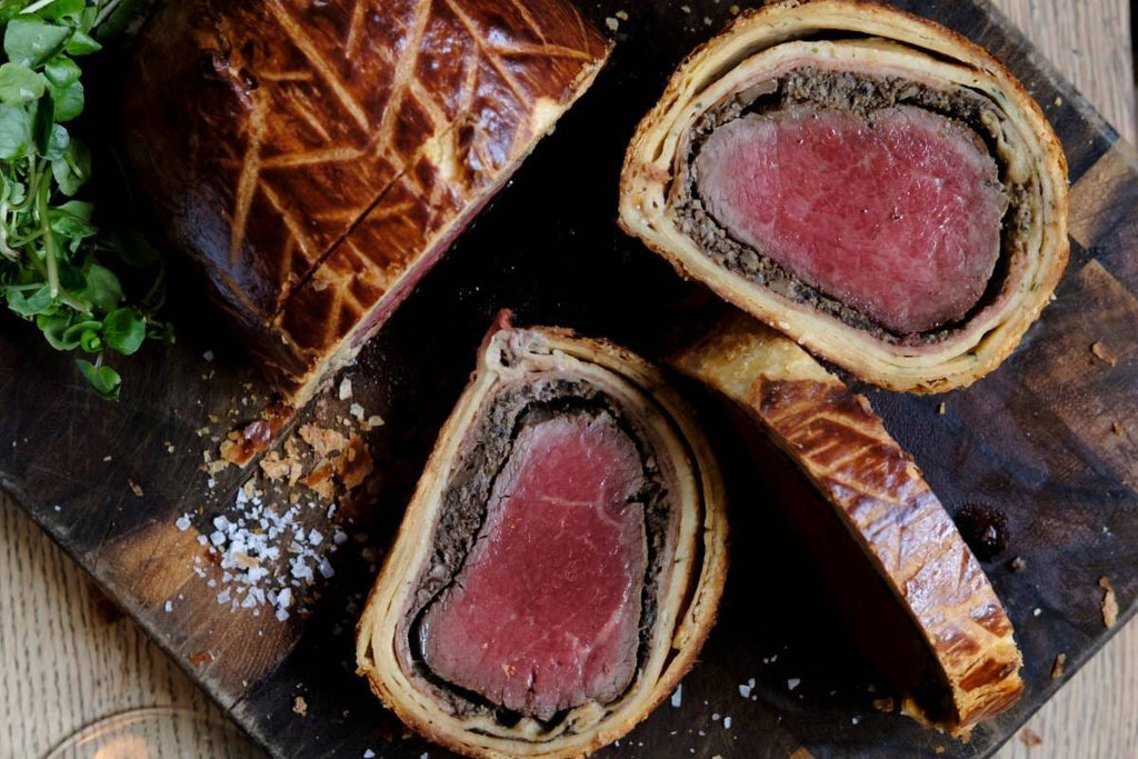 Homemade Beef Wellington – Serves 1 - Applegarth Online Farmshop