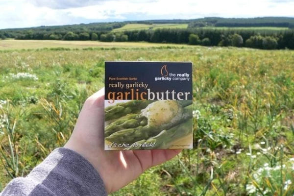 Really Garlicky Butter - chilled 125g - Applegarth Online Farmshop