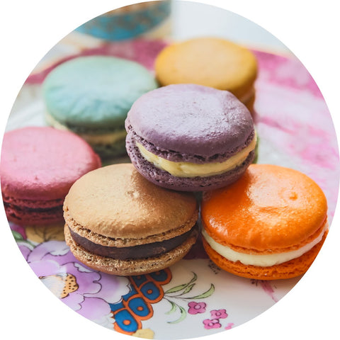 Women's Friend Society Macarons & Tea