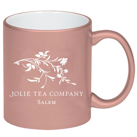 Rose Metallic Logo Mug