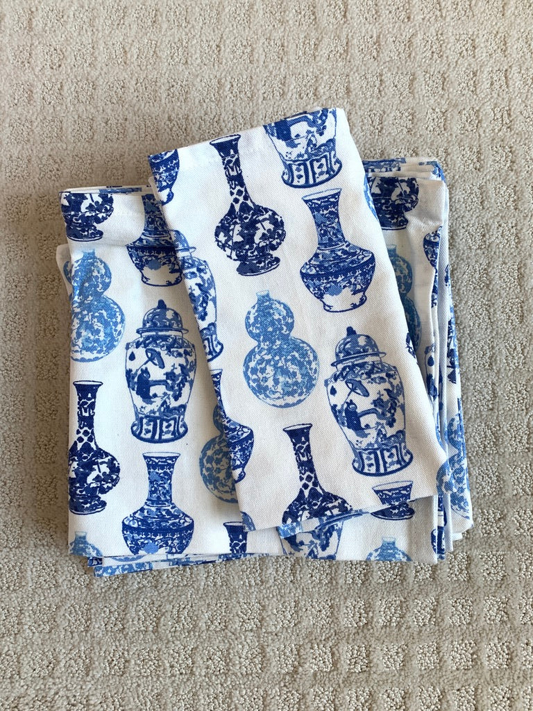 Ginger Jar Napkins, by Pomegranate