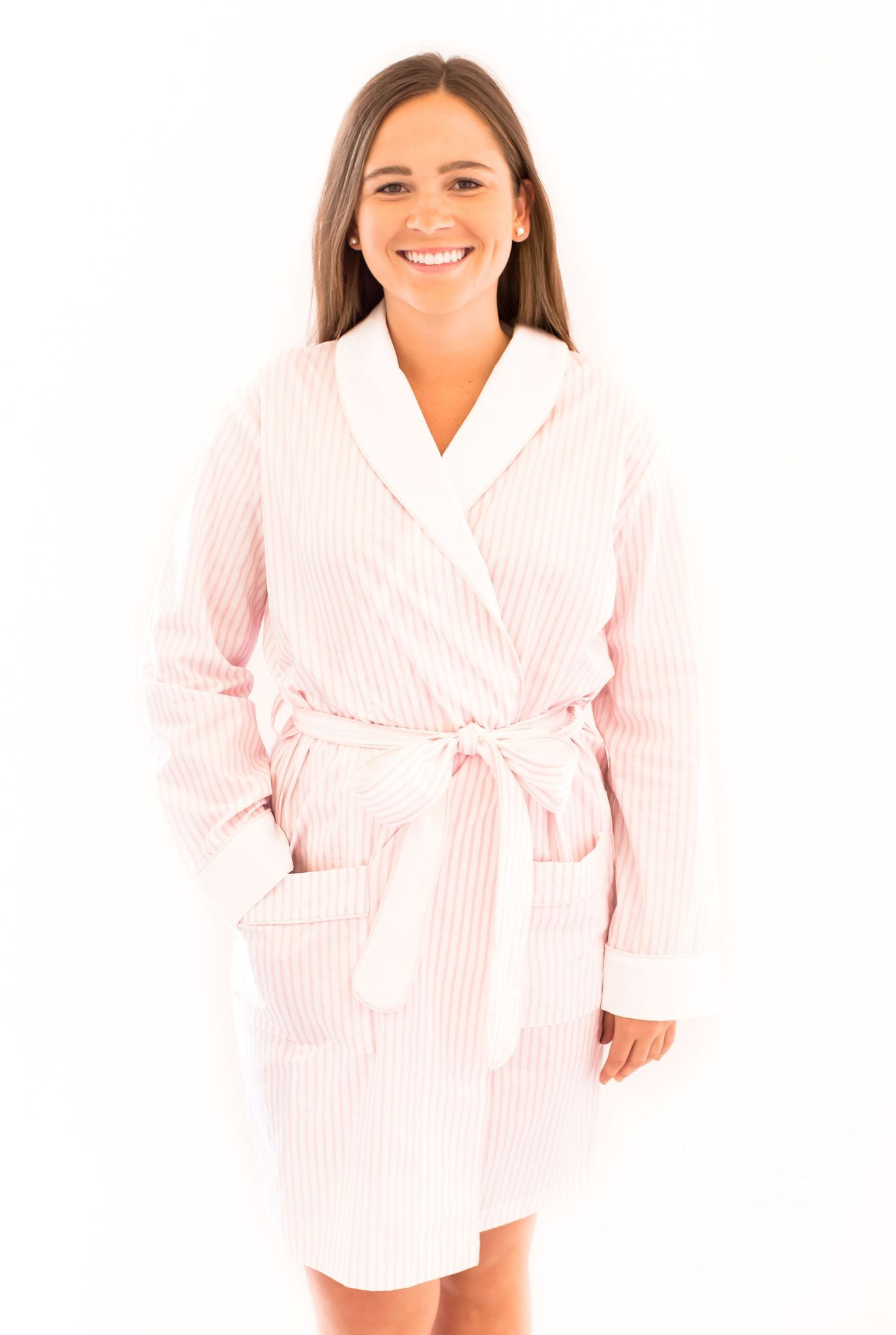 Cotton Sateen Robe (Various colors)