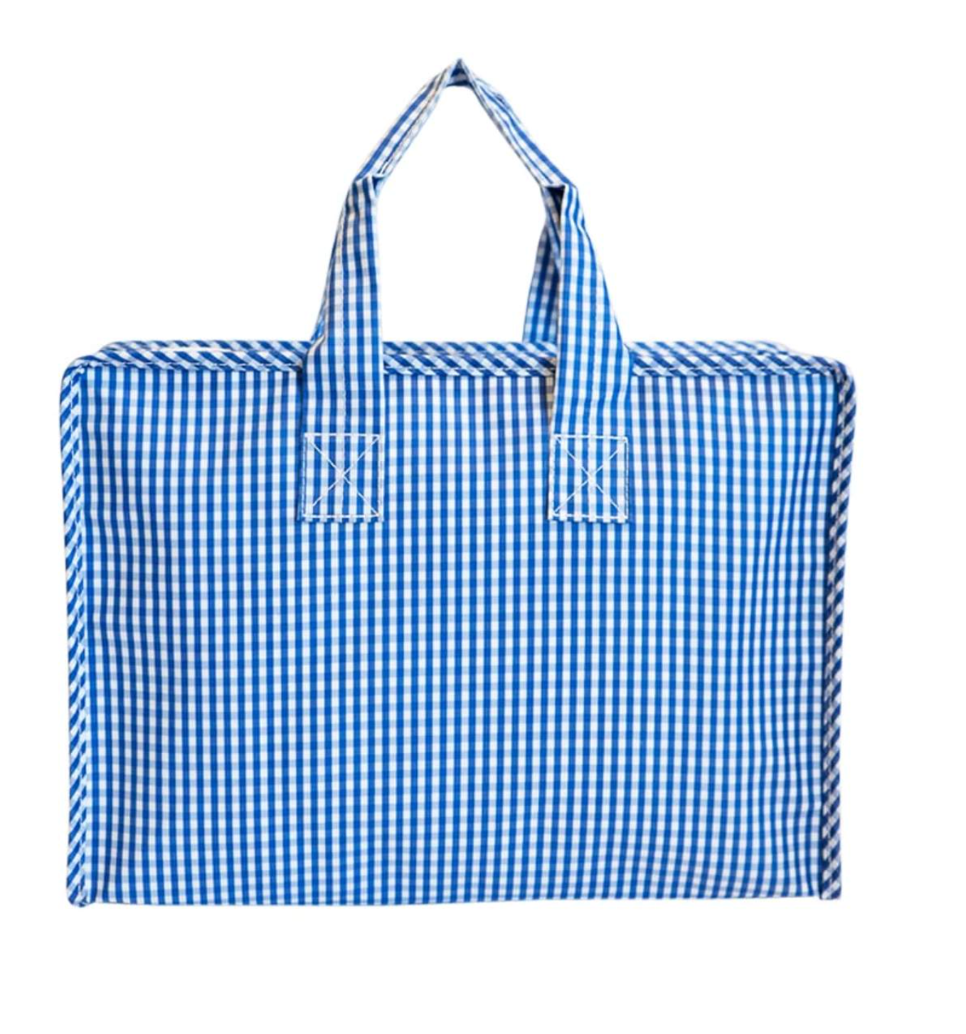 Gingham Travel Tote (Two colors)