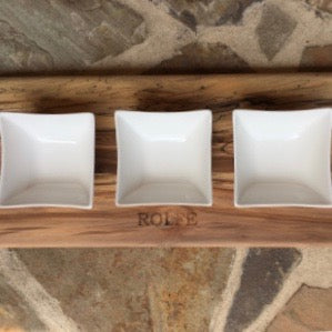 Large Dip Tray - Maple or Sweet Gum.  By 8fd Designs