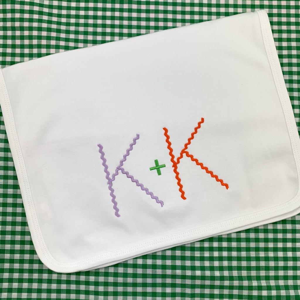 Cotton Knit Burp Cloth