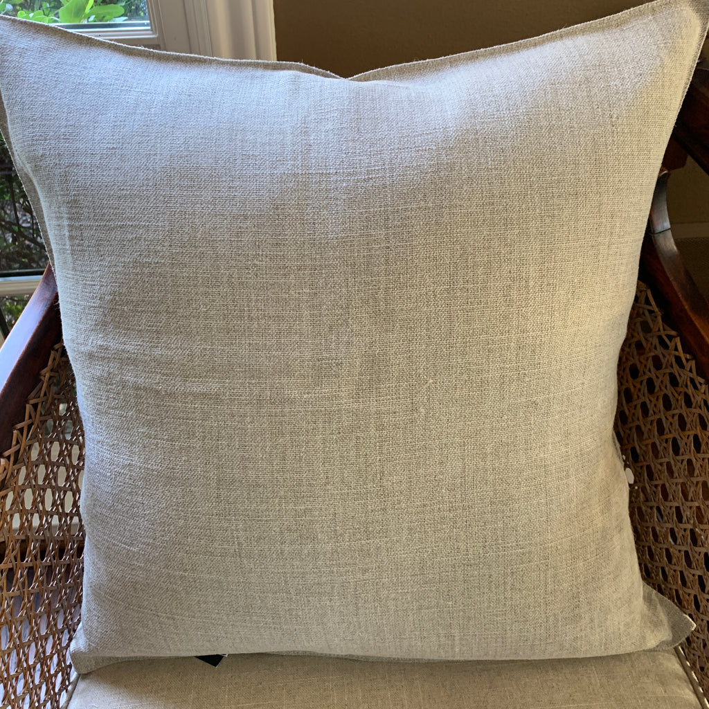 Flax Linen Pillow Cover by Libeco Linen