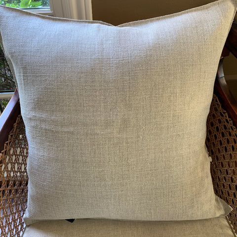 Flax Linen Pillow Cover by Libeco Linen. Includes 8