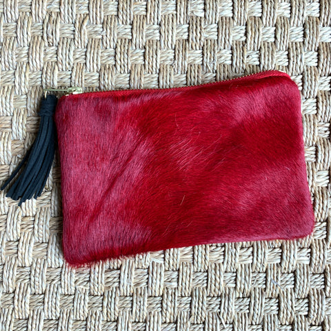 Mini Cowhide Clutch