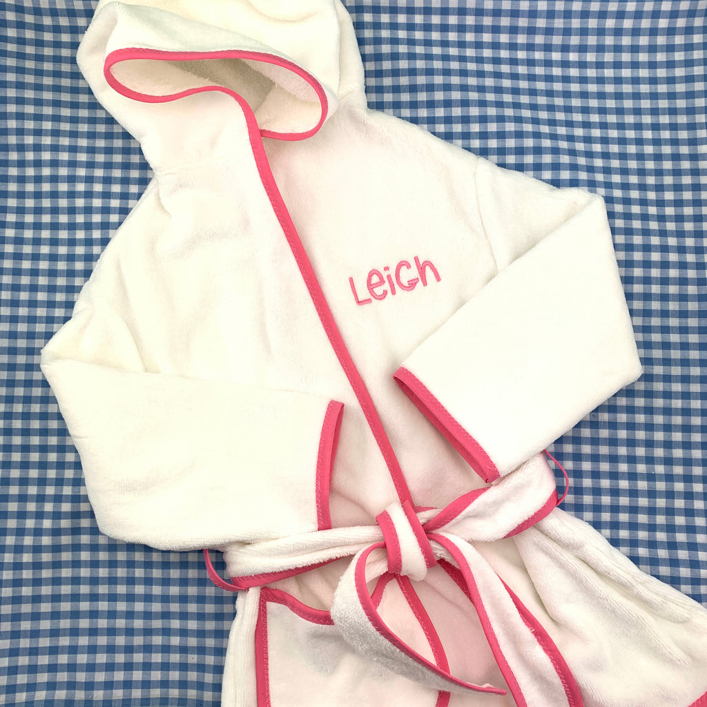 Hooded Children's Bath Robe