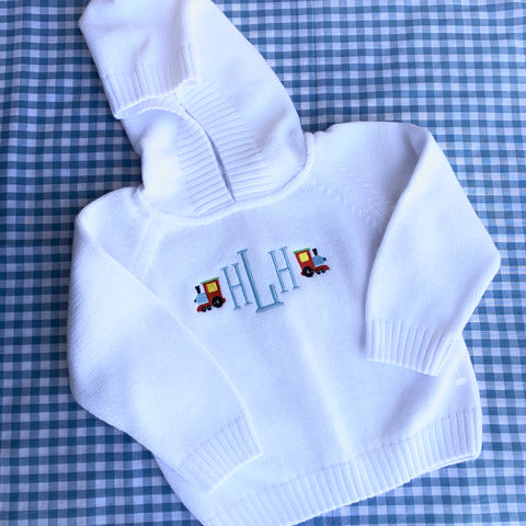 Infant Zip Back Hoodie with Raglan Sleeve