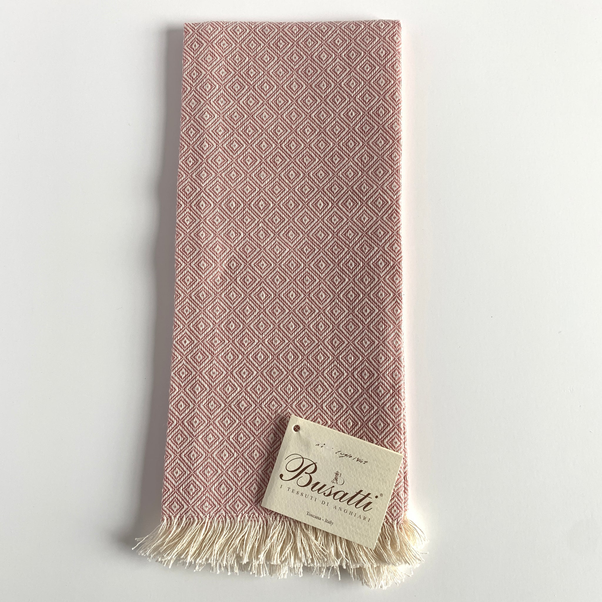 Pienza Short Fringe Guest Towel (Various Colors)