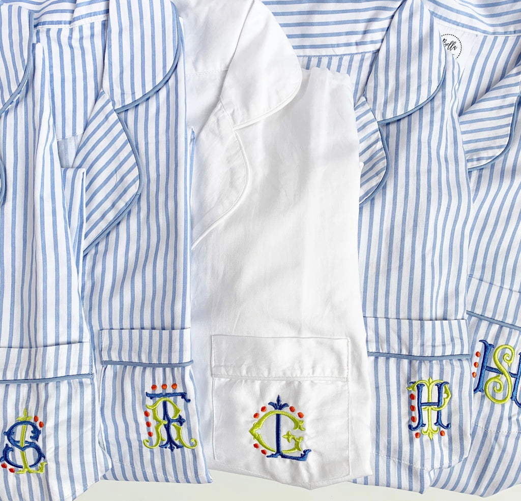 Button-down Sleep Shirt (Various colors)
