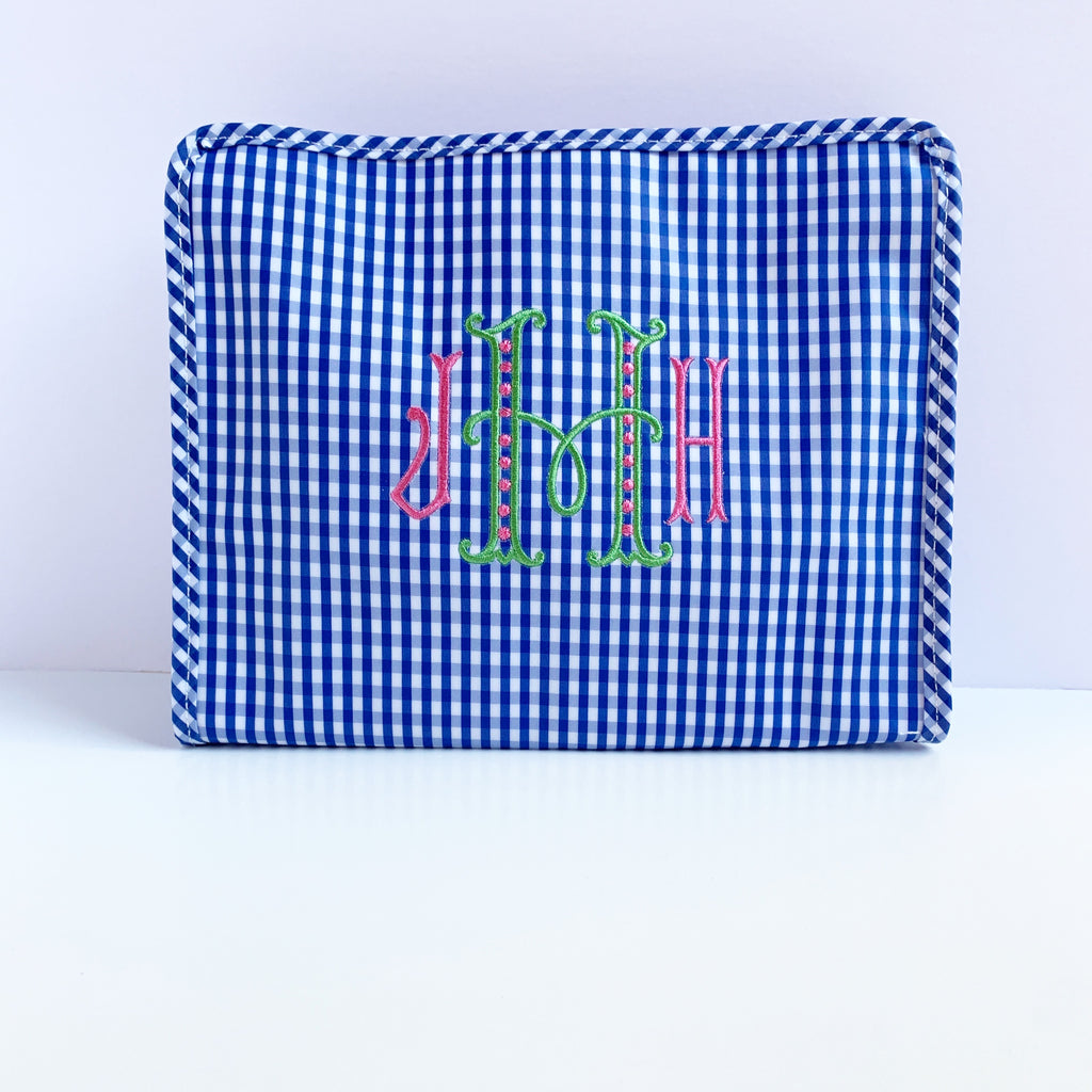 Large Gingham Roadie (Various colors)