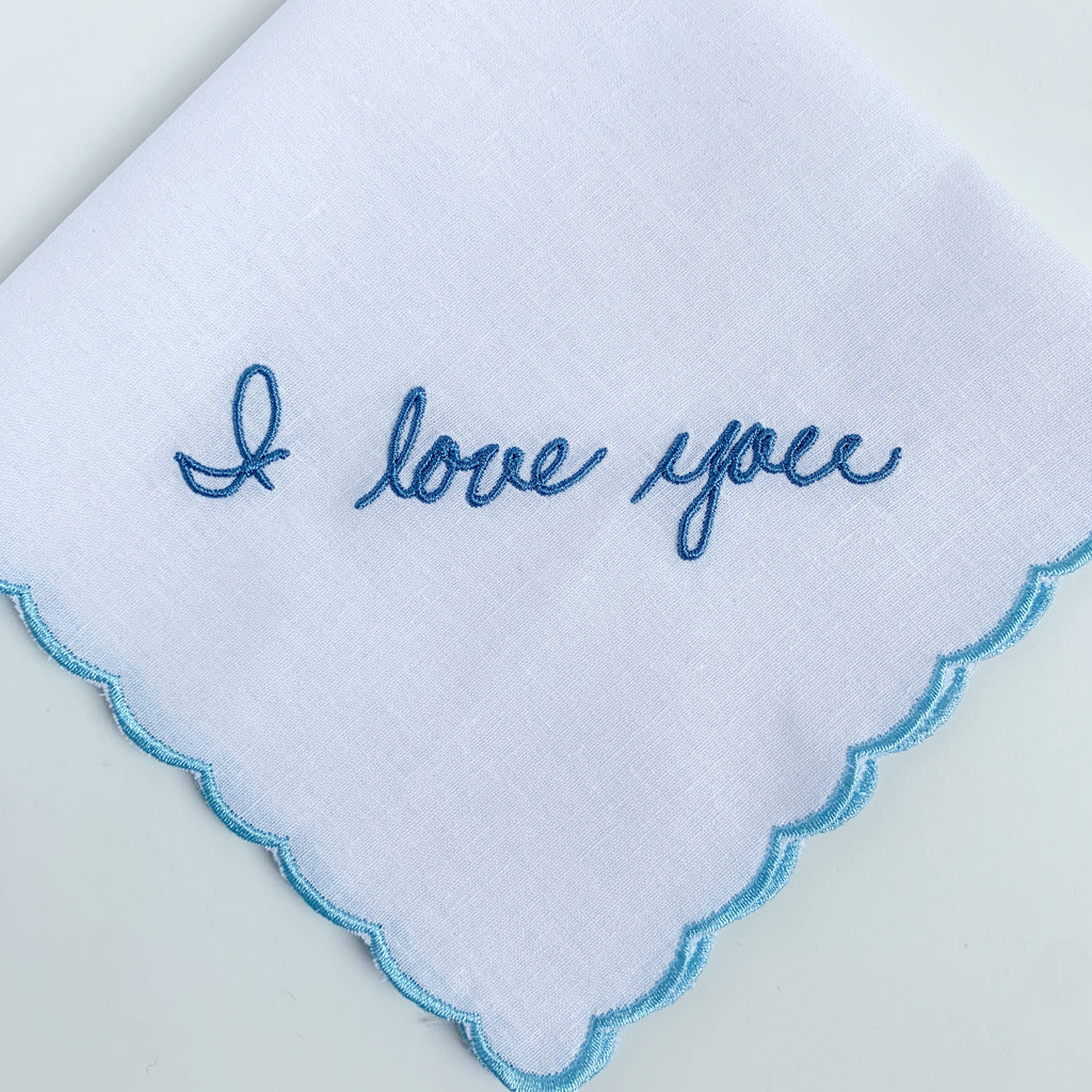 Scalloped Edge Handkerchief