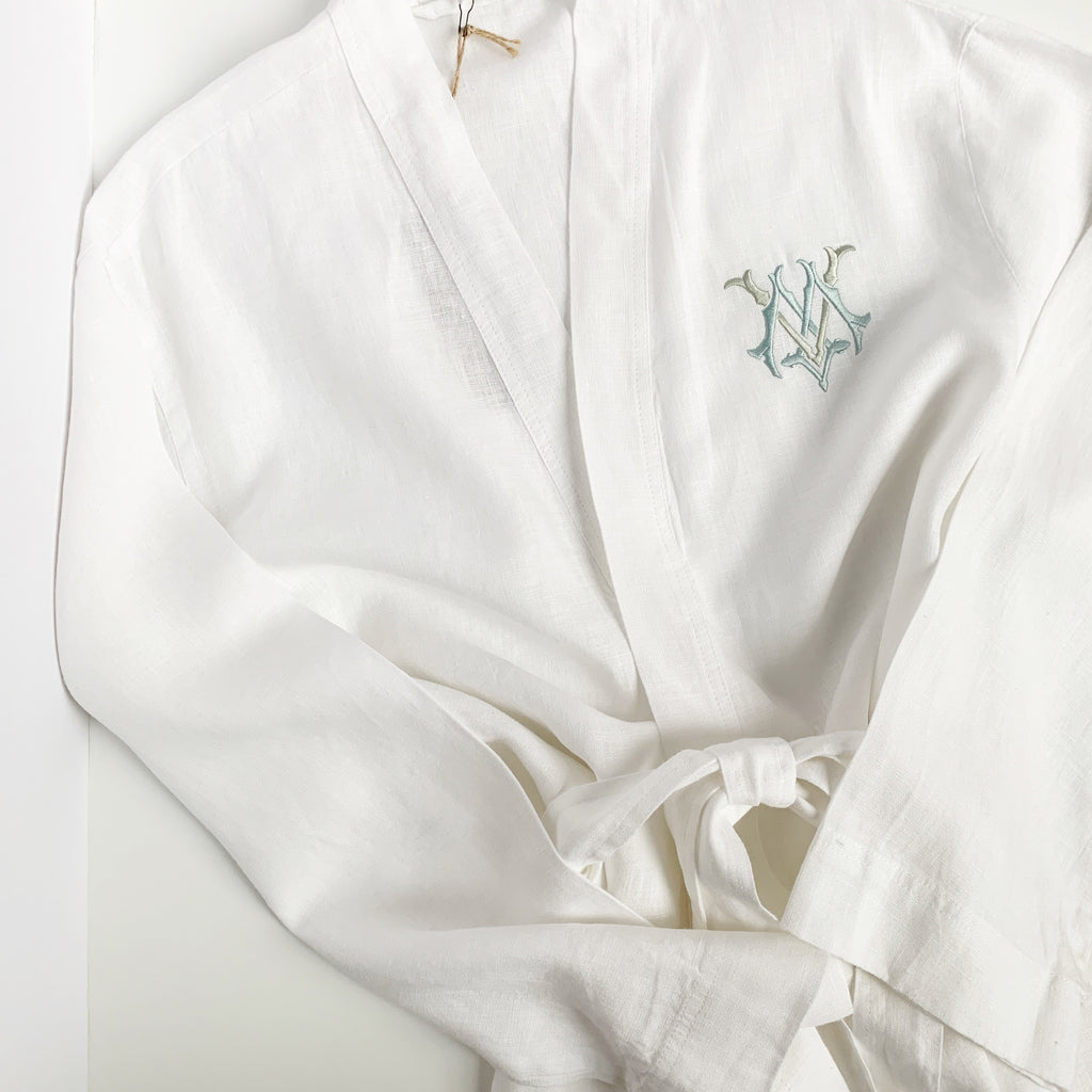 Margot Linen Robe