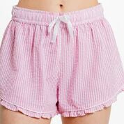 Seersucker Ruffled Sleep Shorts (Various colors)