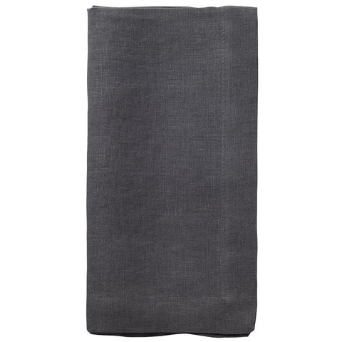Stonewashed Linen Dinner Napkins, Set of Six. (36 colors)